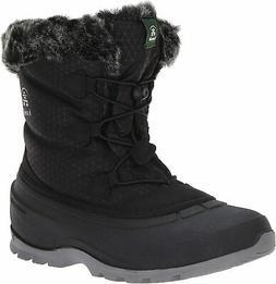 Kamik Momentumlo Women's Black Snow Boots 10