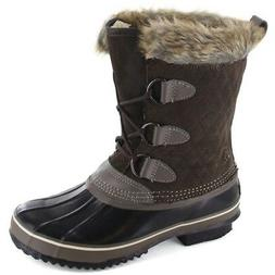 Northside Mont Blanc Snow Boots Womens - Dark Brown