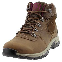 Timberland Women's Mt. Maddsen Mid Lthr WP Hiking Boot, Brow