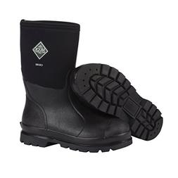 The Original MuckBoots Adult Chore Mid Boot,Black,Men's 11 M