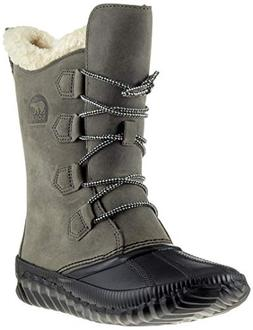 SOREL Women's Out 'N About Plus Tall Boots, Quarry, 8 M US