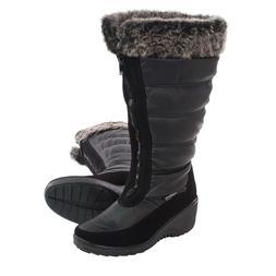 New $160 Womens Sz 7.5 SANTANA CANADA Wide Calf Snow Boots W