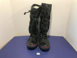 New Black PAJAR Snow Boots Lace Canada Waterproof USA 8 8.5