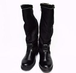 NEW Boston Accent Patty Womens 8M Wide Calf Snow Boots Black