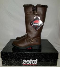 NEW- WOMEN TOTES BAXTER BOOTS Size 7 BROWN WATERPROOF THERMO