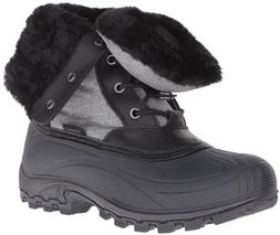 NEW Kamik Women's Harper Snow Boot Grey/Gris Size 6 B US/ EU