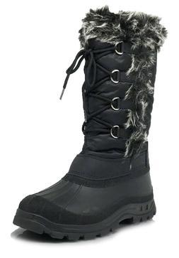 New Women Snow Boots Weather Proof Water Resistant Side Zipp