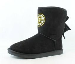 New NHL Womens Boston Bruins Cuce Snow Boots Size 10