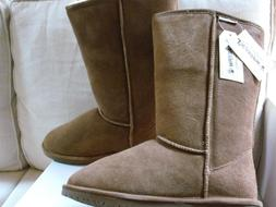 NEW!!!!   WOMENS BEARPAW EMMA TALL SNOW WINTER BOOTS SZ 10