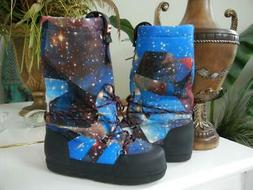 NEW WOMENS HUNTER GALAXY STARS SPACE WINTER INSULATED MOON S