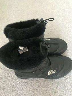 New The North Face Womens Thermoball Black Snow Boots Size 7