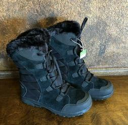 NEW Womens COLUMBIA Waterproof Winter Snow Boots w Faux Fur