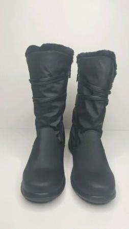 NEW Womens Totes Winter Judy Snow Boots Black Size 10 M Wate