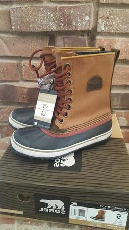 NIB Sorel Women's 1964 Premium CVS Snow Boots Underbrush/Spi