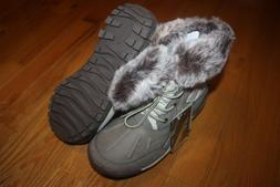 NIB Bearpaw Women's Becka Waterproof Snow Boots Stone Style