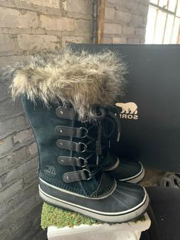 NIB Sorel Women's Joan of Arctic Waterproof Winter Boots Fur