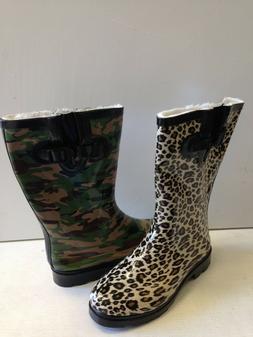 NIB Womens Winter Boots Snow Fur Warm Insulated Waterproof Z