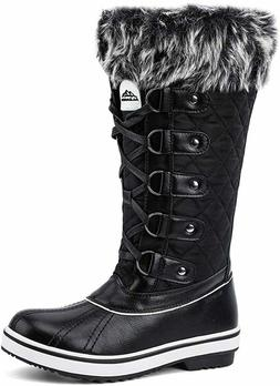 oots Winter Snow Fur Lined Women Warm Faux Size Us High Up D