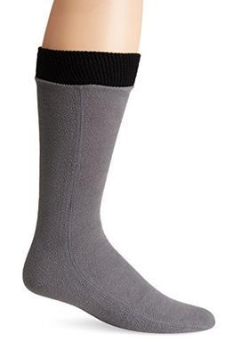 Hot Headz Polarex Fleece Socks, Grey, Small