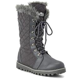 Polar Products Womens Quilted Comfy Winter Side Zip Rain War
