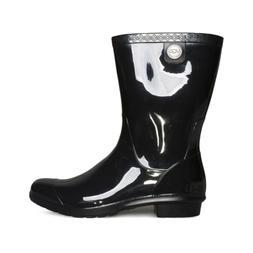 Women's Ugg 'Sienna' Rain Boot, Size 6 M - Black