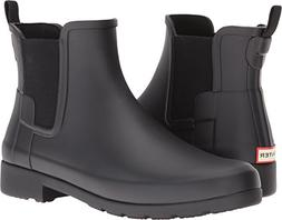 Hunter Women's Original Refined Chelsea Black Boot