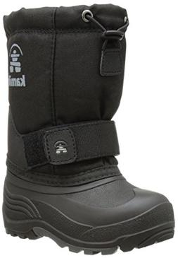 Kamik Rocket Cold Weather Boot ,Black,10 M US Toddler