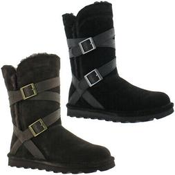 Bearpaw Shelby Women's Cow Suede Waterproof Winter Snow Boot
