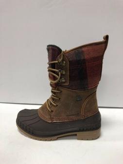 Kamik, Sienna 2 Womens Waterproof Winter Boots Dark Brown US