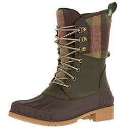 KAMIK Women's Sienna2 Waterproof Insulated Storm Boots Khaki