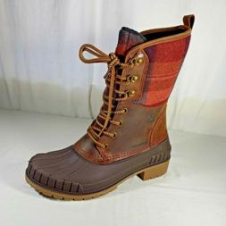 Kamik Women's Sienna2 Waterproof Winter Boot Dark Brown 8 M