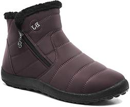 JOINFREE Snow Boot for Women Warm Waterproof Winter Shoes An
