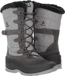 Kamik Women's Snowvalley 2 Snow Boot, Charcoal, 9 B US