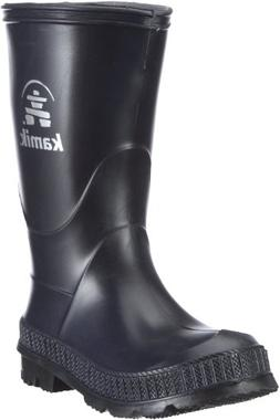 Kamik Stomp Rain Boot,Navy/Black,4 M US Big Kid