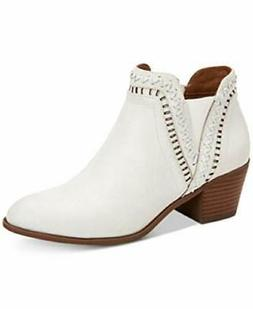 Style & Co. Meridaa Ankle Booties Snow 7.5M, Snow, Size 7.5