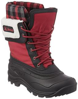 Kamik Women's Sugarloaf Boot,Red,9 M US