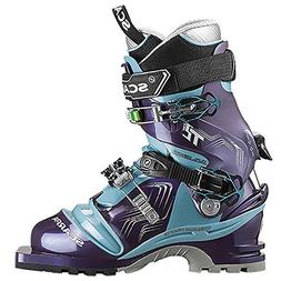 Scarpa T2 Eco Boot - Women's Bourgogne / Polar Blue 24.5