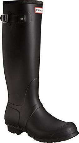Hunter Women's Original Tall Black Rain Boots - 9 B US