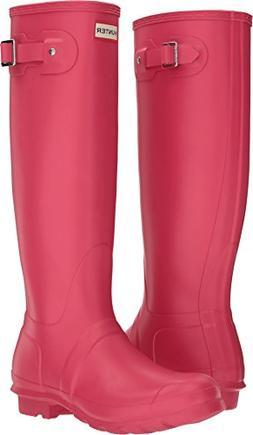 Hunter Women's Original Tall Bright Pink Boot
