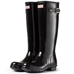 Hunter Women's Boots Original Tall Gloss Snow Rain Boots Wat