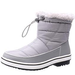ALEADER Women's Terra Waterproof Winter Ankle Snow Boots Lig