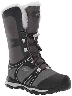 Keen Terradora Winter WP Hiking Shoe, Raven/Vapor, 6 M US
