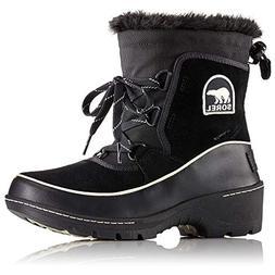 SOREL Women's Tivoli III Boots, Black, 9 M US