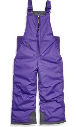 Arctix Infant/Toddler Insulated Snow Bib Overalls,Purple,4T