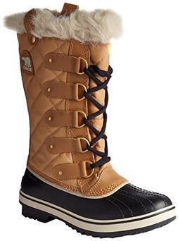 Sorel Women's Tofino Cate Boots, Curry/Black, 7.5 B US