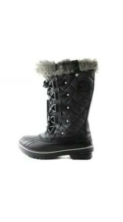 Sorel Tofino Women's Blak Winter Snow Boots Size 6 US LL1846