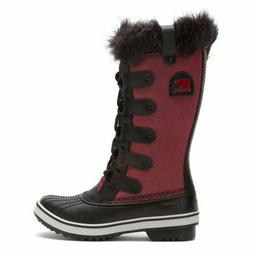 Sorel TOFINO Womens Chili Black Nylon Lace Up Waterproof Win