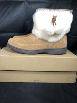 UGG 1012999 W Brie chestnut winter snow boots size 10 Women