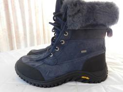 Ugg Womens Adirondack II Deep Blue Color Snow Boots Size 9 U