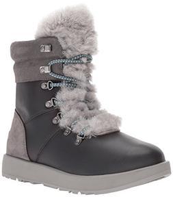 UGG Women's Viki Waterproof Fashion Sneaker, Metal, 9 B US